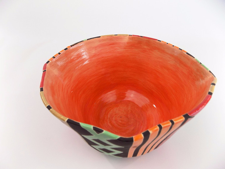 African Serving Bowl