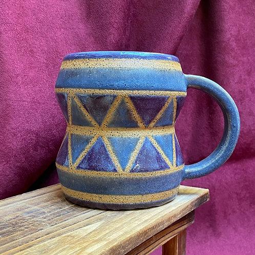 Purple Drum Mug