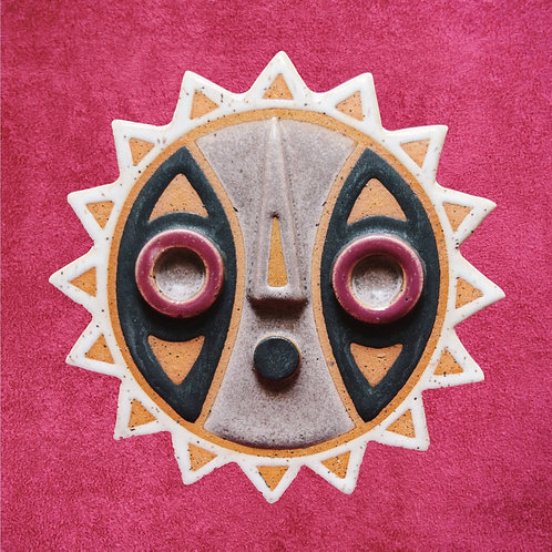 Bwa Mask Wall Hanging Commission