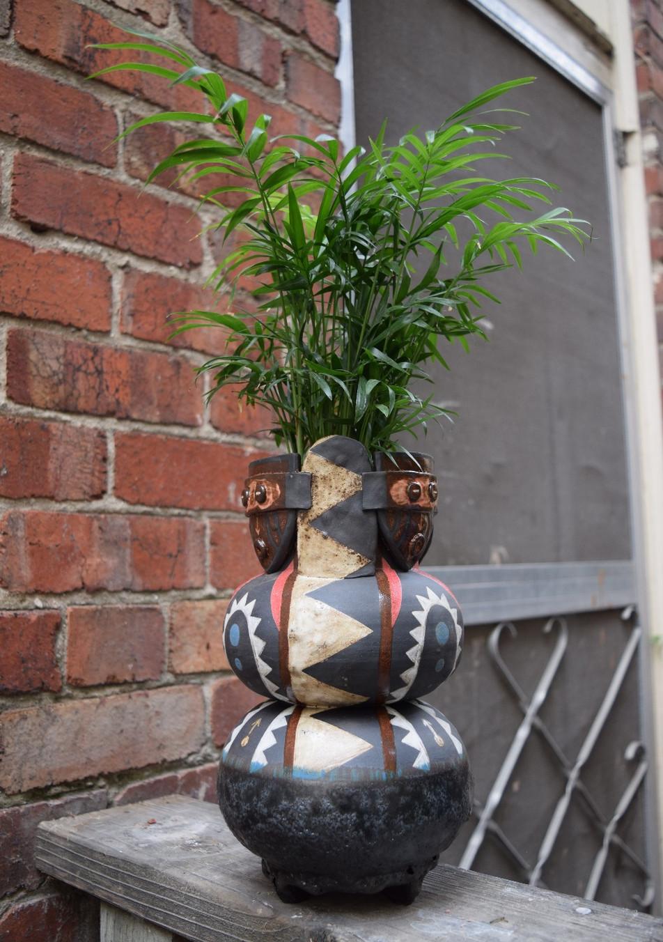 Five Masked Planter