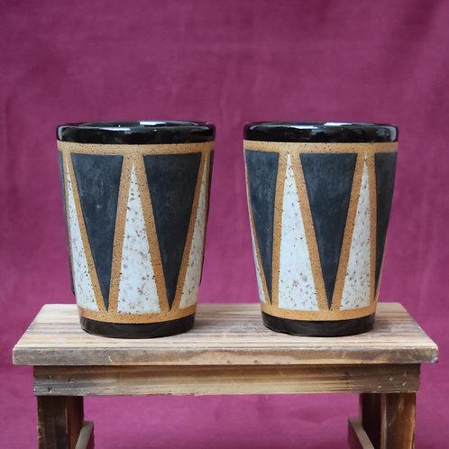 Black Drum Cups