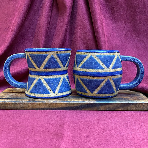 Blue Drum Mug Set