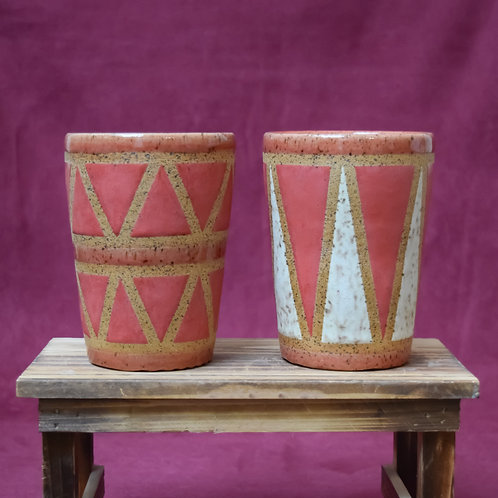 Red Drum Cup Set