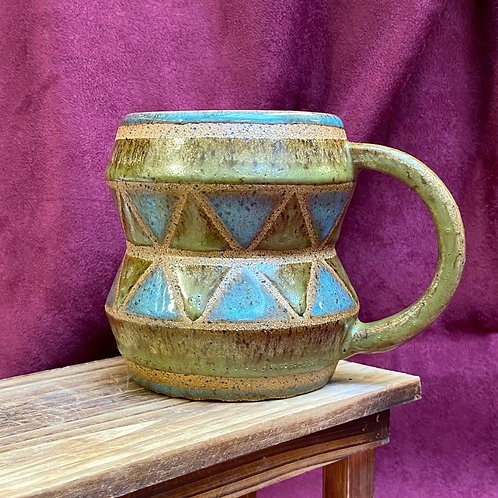 Green Drum Mug