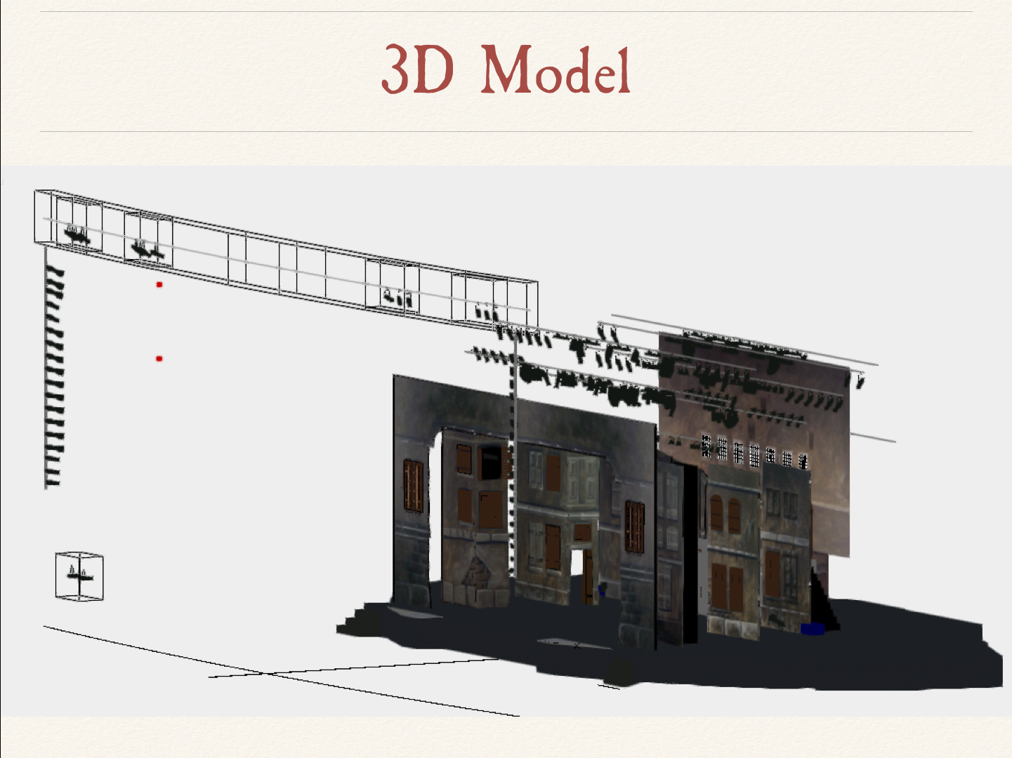 Les Misérables 3D Model