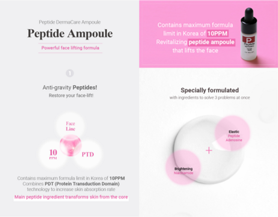 peptide ampoule