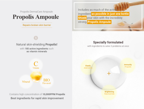propolis ampoule