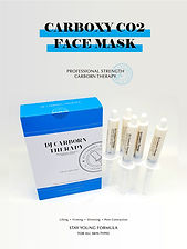 korean carboxy co2 therapy mask