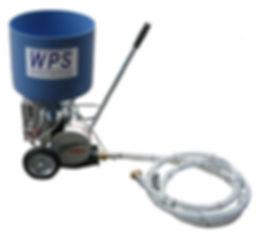 Fugenpumpe FUBIX mit Nachrütung durch WPS