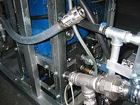 Pump- und Dosier-Aggregat für Linertränkungsanlage