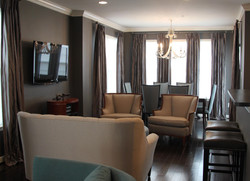AFTER: FAMILY ROOM / NEW DINING AREA