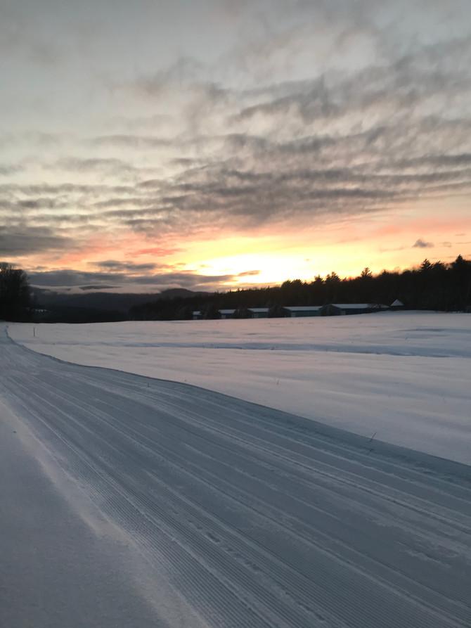 Ample Sunshine and good snow