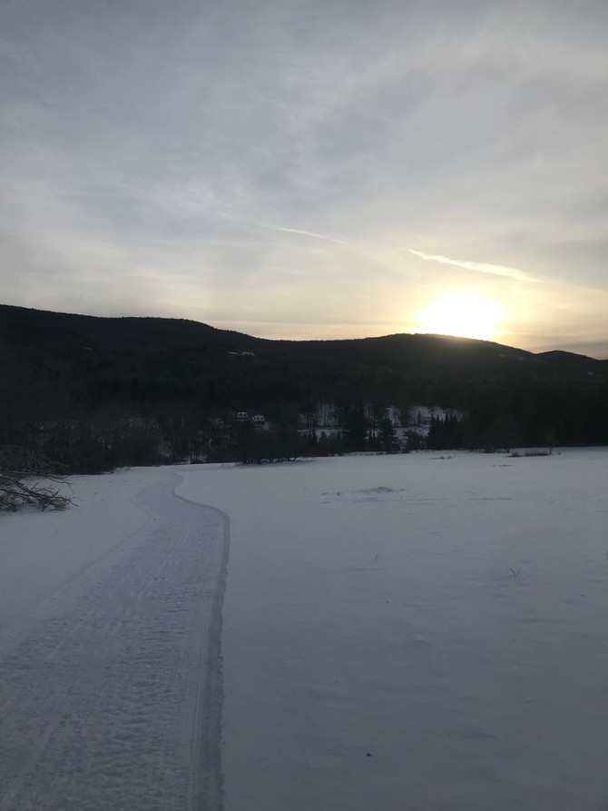 We are open today with great skiing..