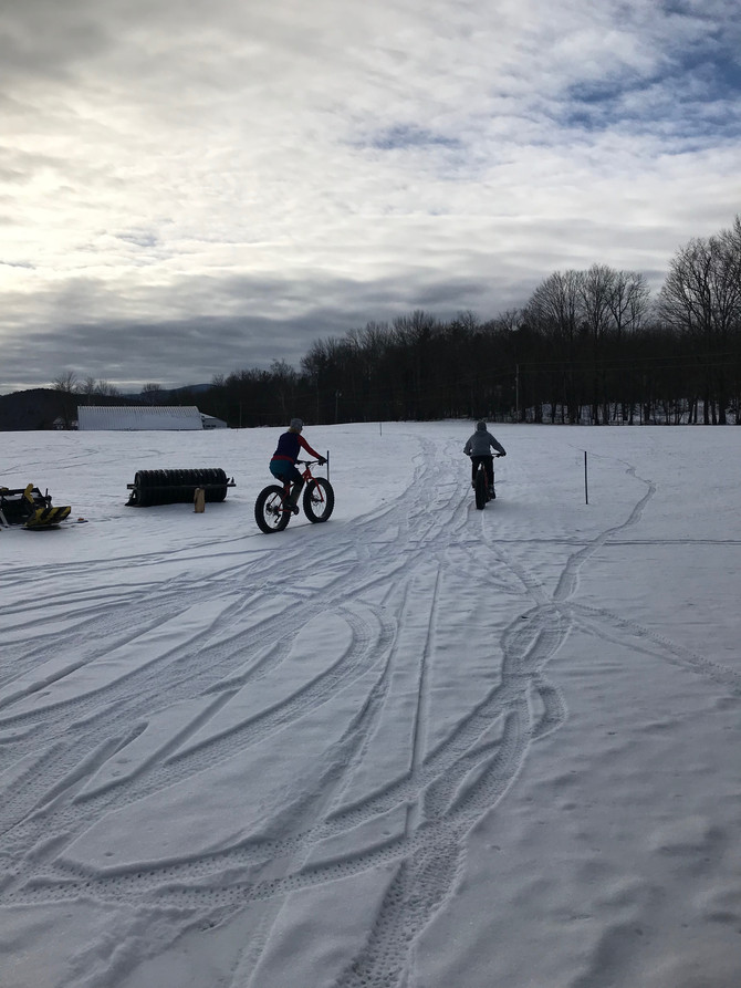 Open today for of skiing and riding!