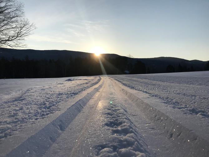 Happy Saturday, come for a ski!