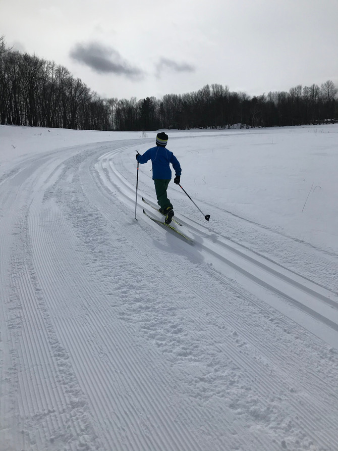 Wintry temps with beautiful sun and conditions