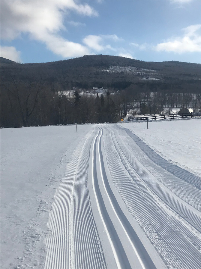Temps to warm, no wind and still great skiing