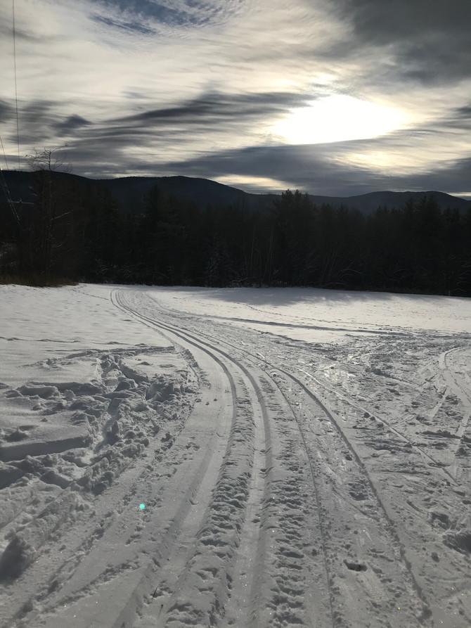 Open today 5KM of nice skiing