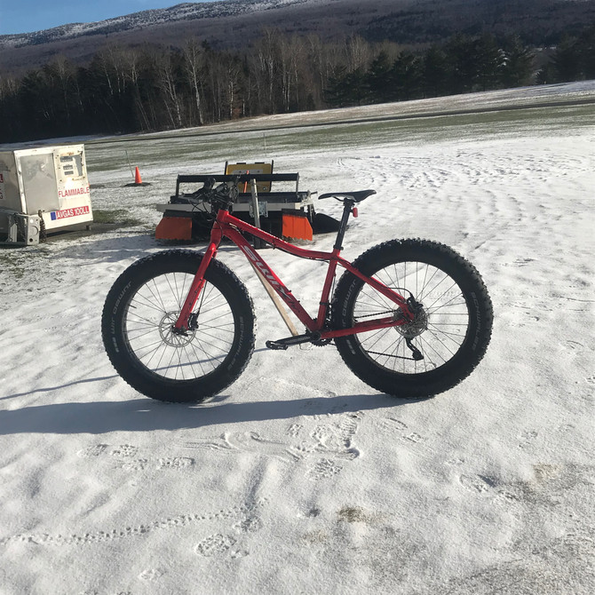 Sun is out, and we are open for Fat Biking!