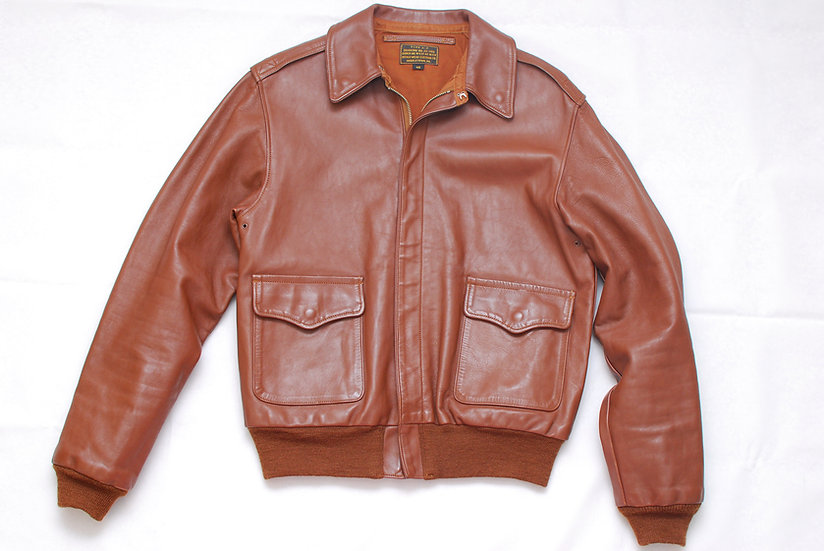 WW2 Vintage REPRO Rough Wear Horse Hide A-2 Jacket 40