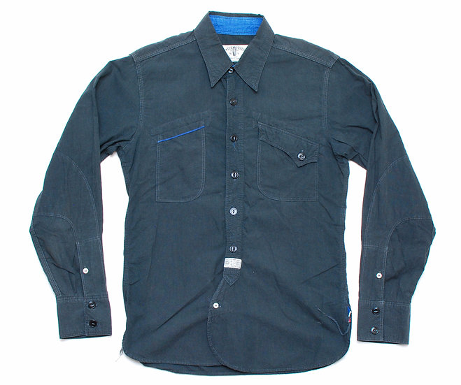 Mister Freedom Mechanic Shirt Black S