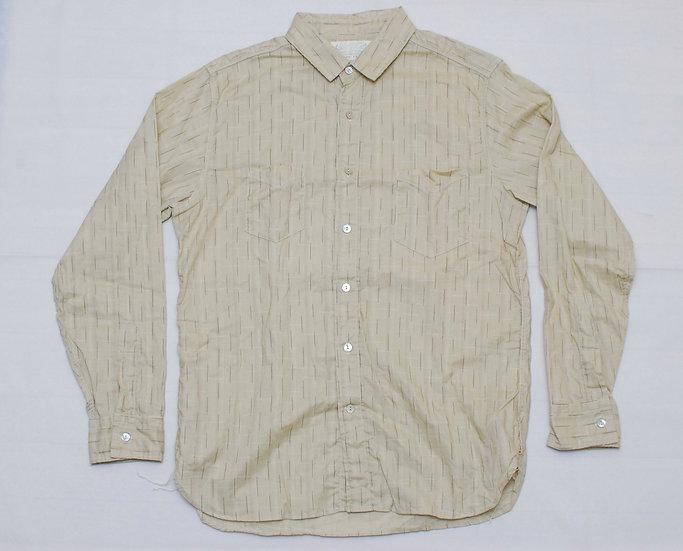 Sugar Cane Beige Shirt M 15 - 15 1/2