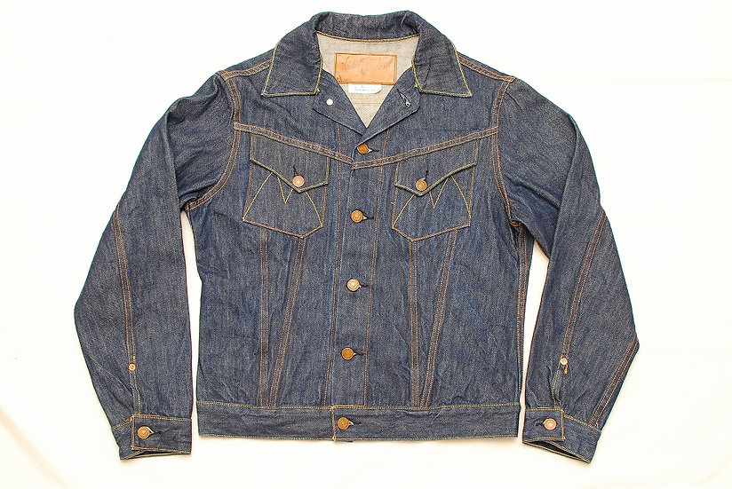 Mister Freedom Cowboy Jacket NOS Cone Denim 36