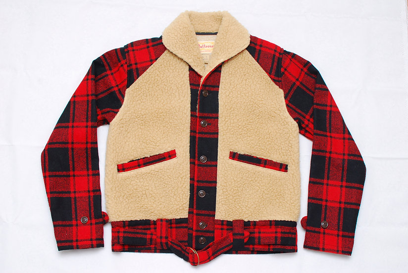 1930s REPRO Cushman Wool Grizzly Jacket Medium