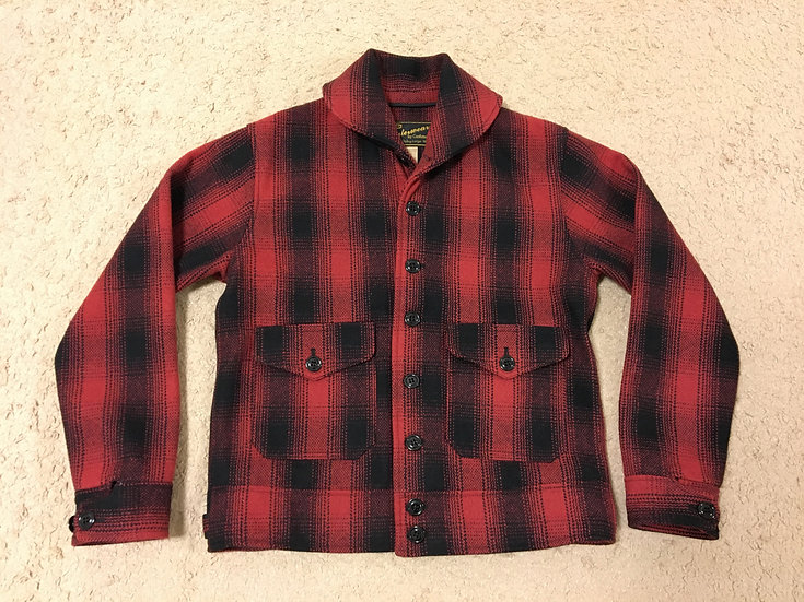 1930s REPRO Cushman Wool Cossack Jacket M