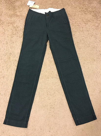 NEW!! The Flat Head Melton Cotton Low Rise Pants w33