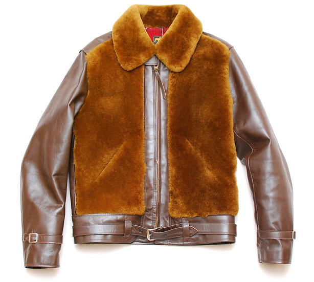 Laskin Lamb TO-YO- ENTERPRISE Grizzly Jacket Brown 38