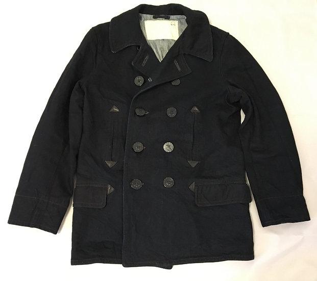 Mister Freedom Midnight P-Jacket Pea Coat 42