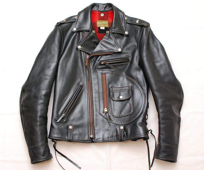 1996 year Real McCoy's oldest Buco J-82 Leather Jacket 38 j-24