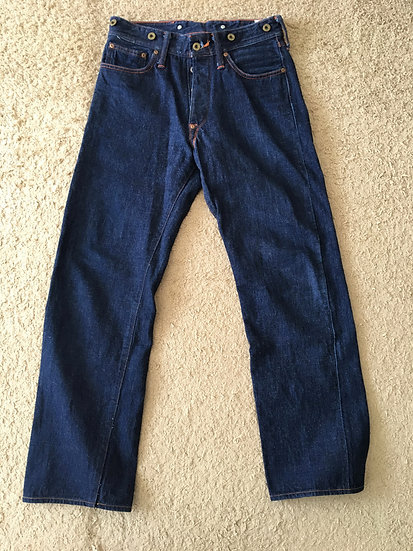1930s Vintage REPRO HD LEE x WAREHOUSE & Co, RARE JEANS 101 w30
