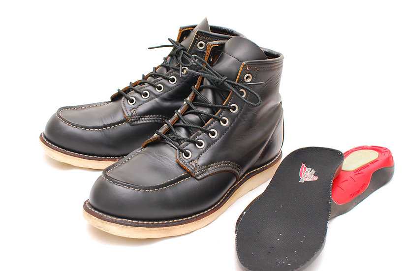 Red Wing Irish Setter 9874 Black Brown Core Horween Leather 8E