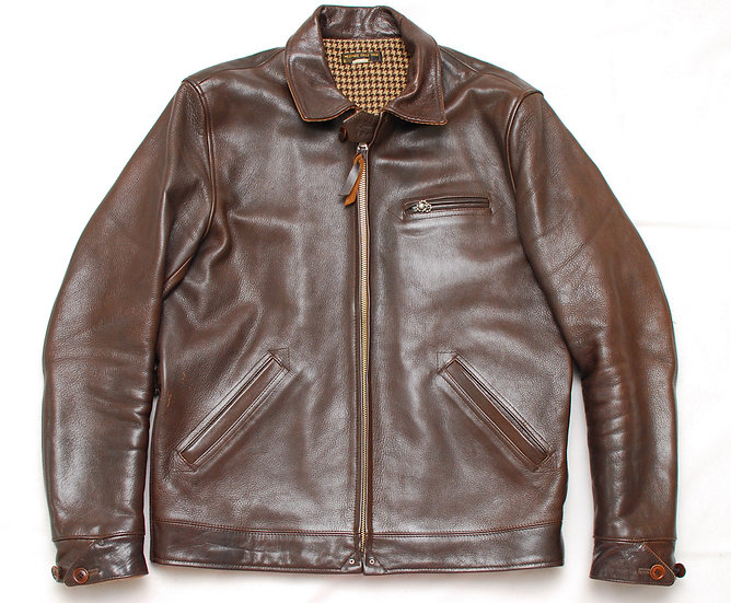 1930s REPRO West Ride Goat Skin Sports Jacket 40