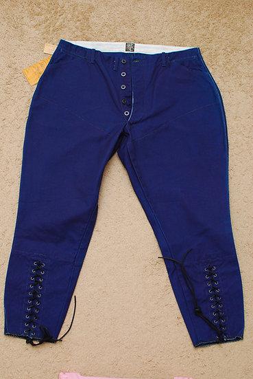 NEW!! Sugar Cane Breeches Pants Blue w36 jocky rider motorcycle