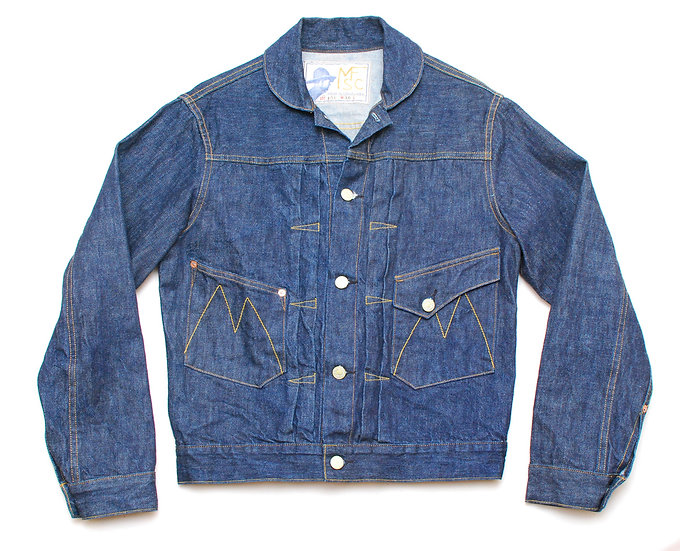 NEW! Mister Freedom Ranch Blouse 36 denim jacket
