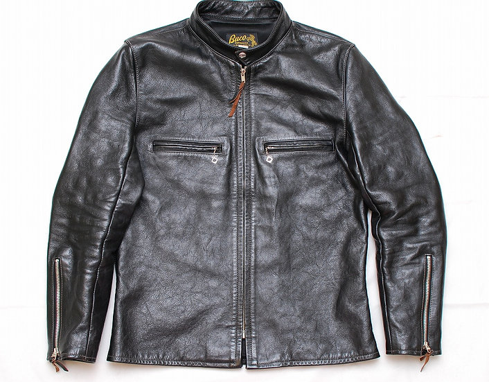 The Real McCoys Buco J-100 Motorcycle Leather Jacket 42