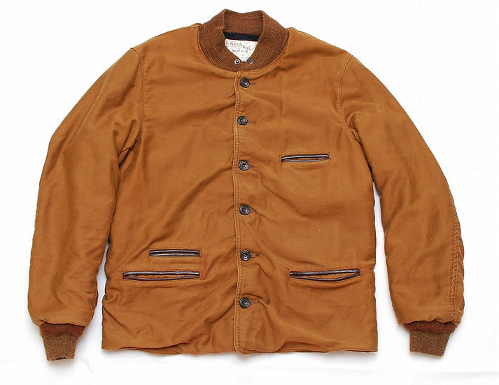 Sugar Cane Moleskin Jacket 40 Brown