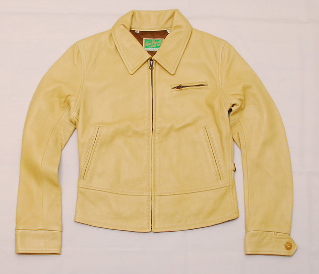 1930s Repro LEVI'S VINTAGE CLOTHING Deer Skin Sports Jacket for Women XS