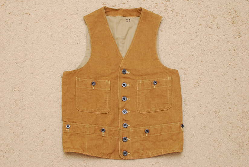 Mister Freedom Range Vest Brown 34