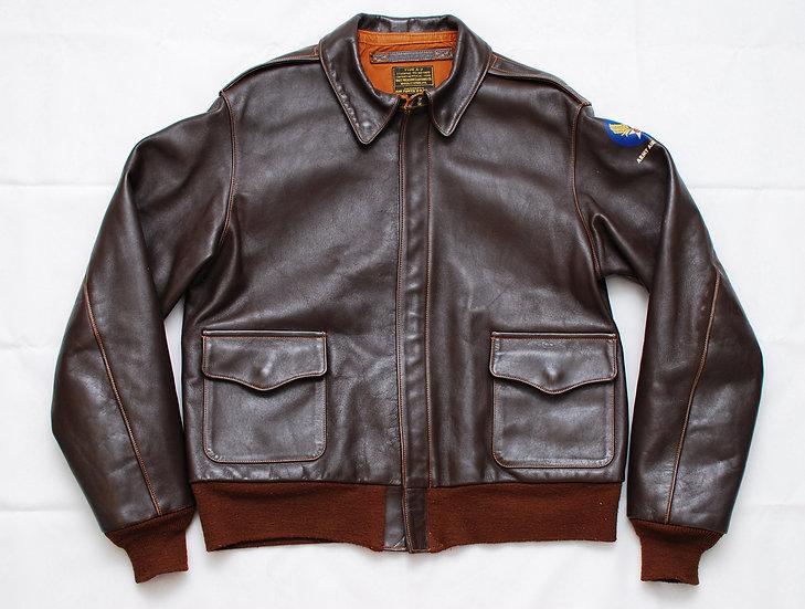 WW2 Vintage REPRO Buzz Ricksons Horse Hide A-2 Jacket 42