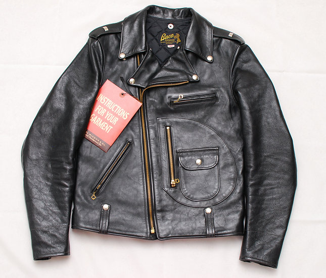 The Real McCoys Buco J-24 Rider Leather Jacket 38