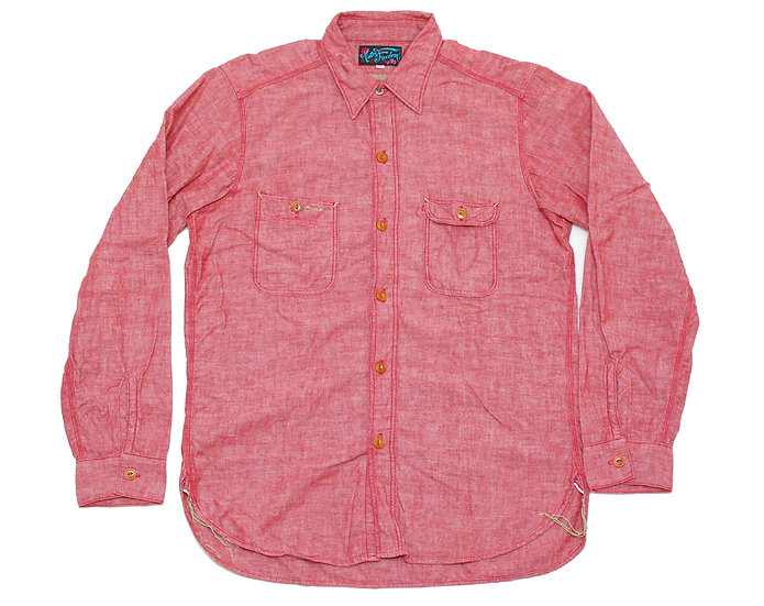Mister Freedom NIXON Shirt Chambray L