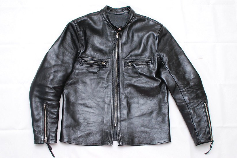 Real Mccoys Buco J-100 Leather Racer Shirt 38