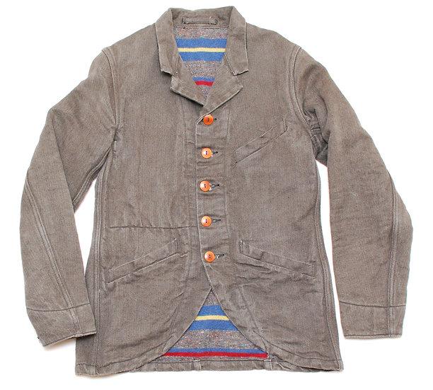 Mister Freedom Faro Sack Coat HBT Jacket 36