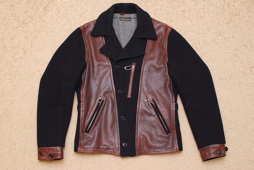 1930s REPRO WARP & WOOF Pioneer Tailoring Co, Vagabond Jacket 38