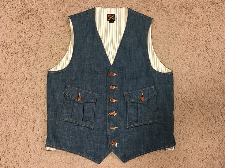 Mister Freedom Continental Player Vest 38