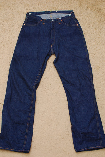 RARE!! FREEWHEELERS Union Special Overalls Jeans Pants w34